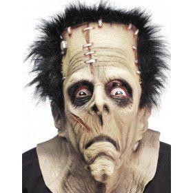 Rubber Frank Overhead Masker Met Haar