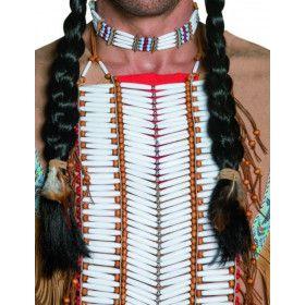 Western Authentieke Indiaanse Borstplaat Volwassen