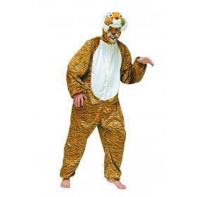 Gevaarlijke Pluche Tijger Man Kostuum