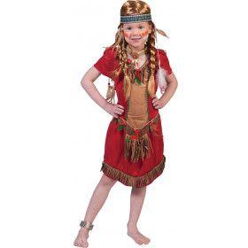 Red Hawk Meisje Kostuum