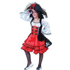 Piraat Nieuw Amsterdam Jurk Meisje
