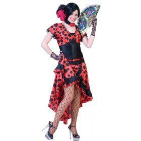 Evita La Espanola Dame Vrouw Kostuum