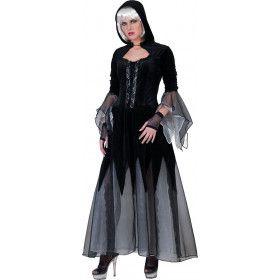 Gothica Dame Vrouw Kostuum