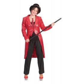 Tailcoat Red Vrouw