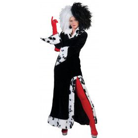 Cruel Lady Dalmatiers Vrouw Kostuum