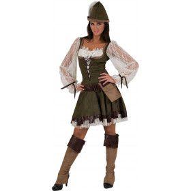 Robin Hood De Armenhelper Jurk Vrouw
