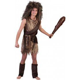Oerie De Holbewoner Man Kostuum