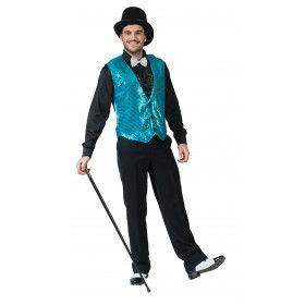 Show Vest Blauw Man