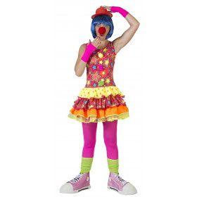 Grappige Clown Canadia Vrouw Kostuum