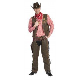 Wild West Wade Man Kostuum