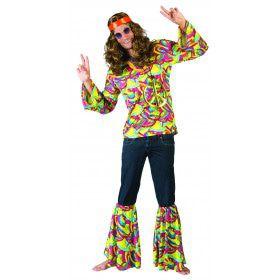 Hans De Hippie Man Kostuum