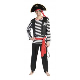Pat De Piraat Man Kostuum
