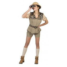 Safari Wild Vrouw Kostuum