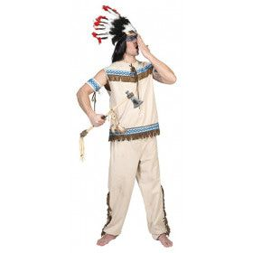 Wigwam Wimp Indiaan Man Kostuum