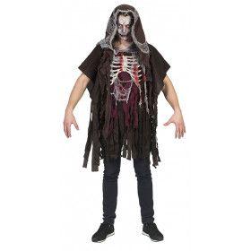 Rammelende Robbie Skelet Man Kostuum