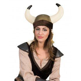 Machtige Viking Helm Met Vlechten