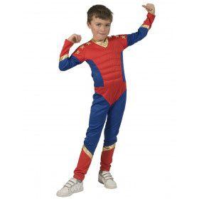 Onverslaanbare IJzersterke Superman Jongen Kostuum