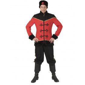 Woeste Steppe Kozak Michael Man Kostuum