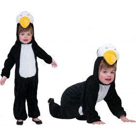 IJskoude Pingu Pinguin Kind Kostuum