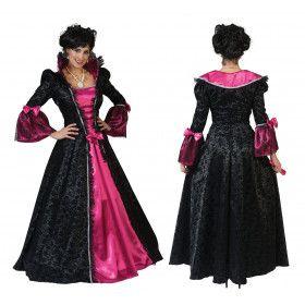 Freule Van Parijs Renaissance Vrouw Kostuum