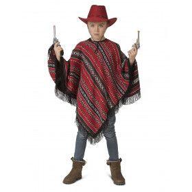 Poncho Mexicaanse Bandiet Pedro Pistola Kind Kostuum