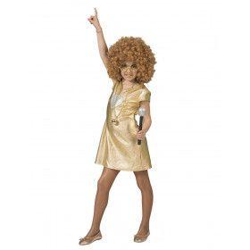 Love Is Gold Jaren 70 Disco Meisje Kostuum