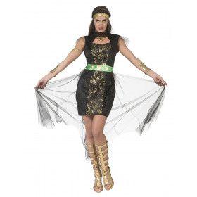 Gevaarlijk Aantrekkelijke Oosterse Schone Vrouw Kostuum