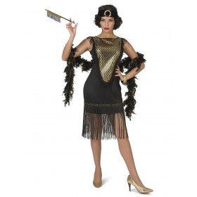 Gatsby Charleston Dame Franje Rok Vrouw Kostuum