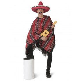 Poncho Mexicaanse Bandiet Pedro Pistola Man Kostuum