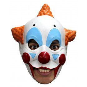 Giechelende Clown Circus Masker