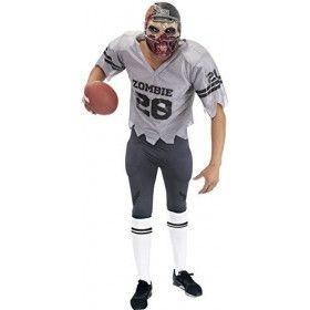 American Football Zombie Een Tackle Te Veel Man Kostuum
