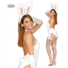 Set Witte Bunny Drie Delig