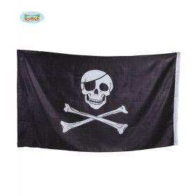Piratenvlag 90 X 150 Centimeter