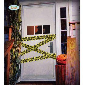 Afzetlint Halloween Danger Zombies 600 Centimeter