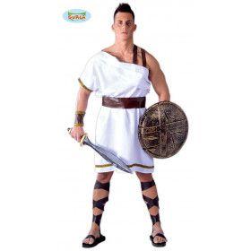Soldaat Leonidas De Spartaan Man Kostuum