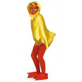 Rubberen Donald De Eend Kostuum