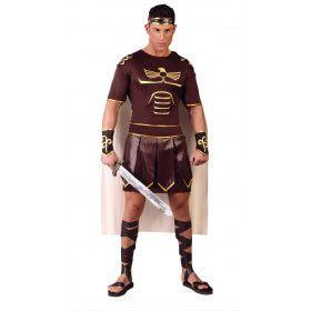 Gladde Gladius Zwaardvecht Man Kostuum