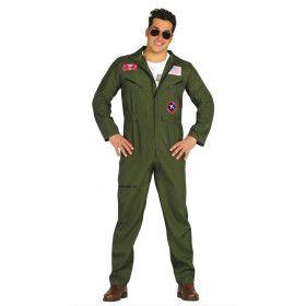 Jsf Straaljager Piloot Man Kostuum