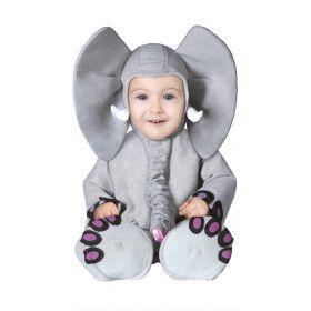 Snoezige Olifant Baby Kind Kostuum