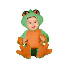 Piepklein Kikkertje Baby Kind Kostuum