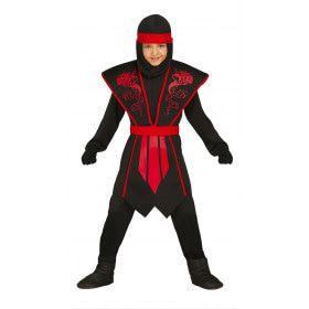 Soepel Als Een Slang Ninja Jongen Kostuum