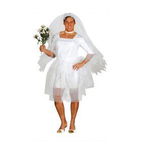 Hij Is De Bruid Travestiet Man Kostuum