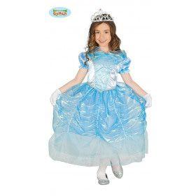 Blauwe Zwanen Prinses Jurk Meisje