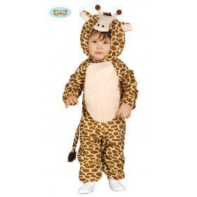 Kort Girafje Kind Kostuum