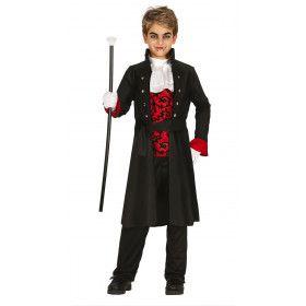 Baron Bloed Vampier Jongen Kostuum