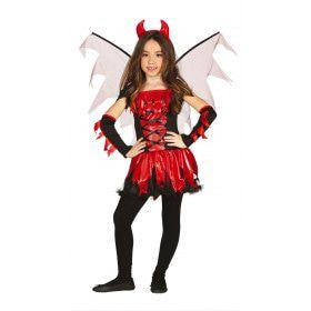 Gemeen Fel Duiveltje Meisje Kostuum