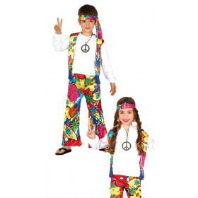 Bloemenkind Hippie Kind Kostuum