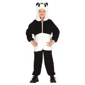 Ying Yang Bamboe Panda Kind Kostuum