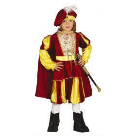 De Allerrijkste Prins Jongen Kostuum