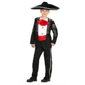Mariachi Oaxaca Mexico Jongen Kostuum